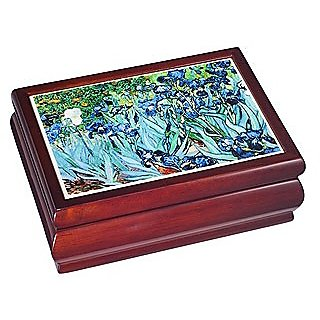 Van Gogh Musical Jewelry Box