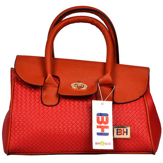 BH Wholesale Market Red Shoulder/Hand Bag For Women