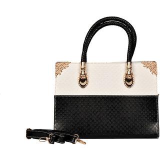 BH Wholesale Market Black/White Shoulder/Hand Bag For Women