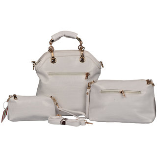 BH Wholesale Market White Shoulder/Hand Bag For Women