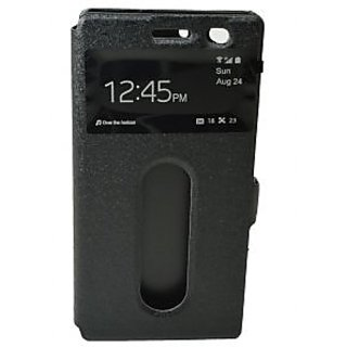 TOTTA Caller ID Flip Cover For Lenovo Vibe X2_Black