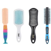 Combo Of Family Hair Brush - Pack Of 4 - By Roots