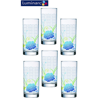 Luminarc Set of 6 Amsterdam Daliane Glass - 270 ML