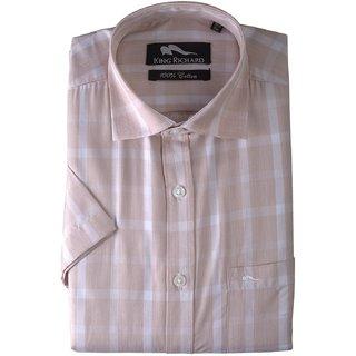 King Richard Men's Blended Cotton Formal Shirt