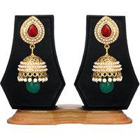 Zaveri Pearls Jhumki Earring
