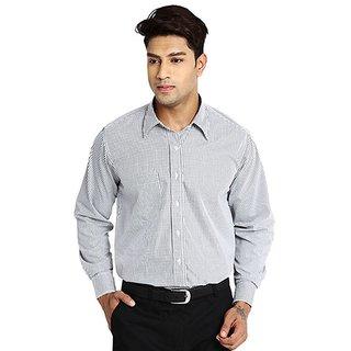 Mafatlal Cotton Blend Shirts - Black