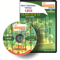 Class 11 And 12 PCM Combo Pack English Offline Test Papers CD