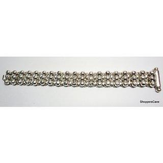 Shoppers Cave Designer Sterling Silver Bracelet