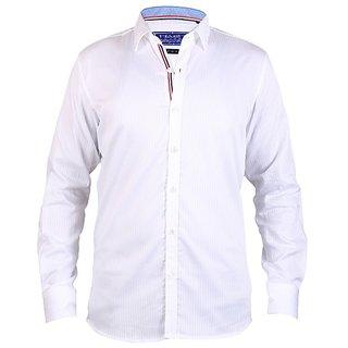 HasH Luxury Men's White Shirt