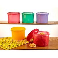 Tupperware Store All Medium Canister- 1.3 Litre - Set Of 3Pcs