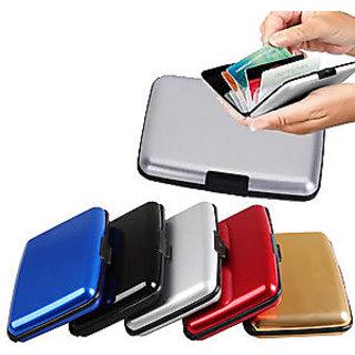SET of 6- Unisex Aluminium Security Wallet