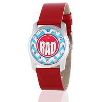Yepme Twikin Womens Watch - Sky Blue/Red