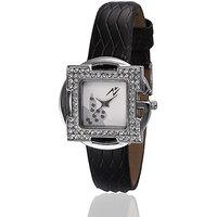 Yepme Scarla Womens Watch - White/Black