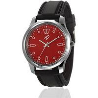 Yepme Eccen Unisex Watch - Red/Black