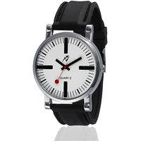 Yepme Alvez Unisex Watch - White/Black