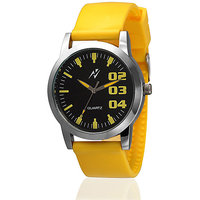 Yepme Elmo Unisex Watch - Black/Yellow