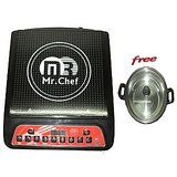 Multifunction Induction Cooker by Mr. Chef / Mist + Free Kadai With Lid
