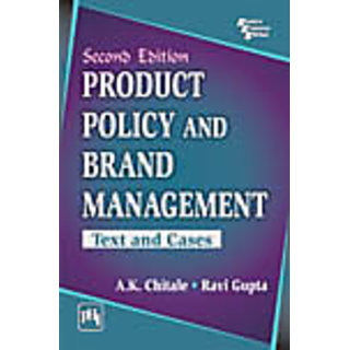 PRODUCT POLICY AND BRAND MANAGEMENT , SECOND EDITION