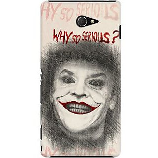 Kasemantra Why So Serious Case For Sony Xperia M2