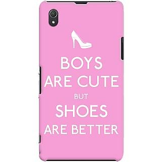 Kasemantra Boys Are Cute But Case For Sony Xperia Z1