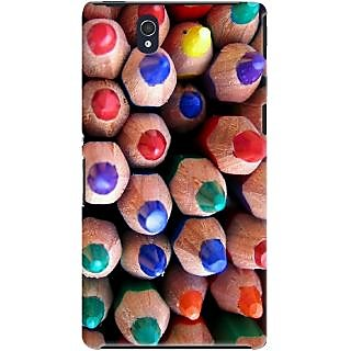 Kasemantra Colour Pencils Case For Sony Xperia Z