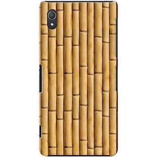 Kasemantra Bamboo Texture Case For Sony Xperia Z2