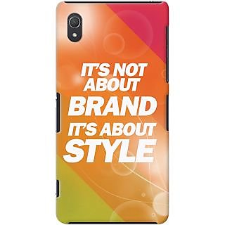 Kasemantra It'S Not About Brand Case For Sony Xperia Z2