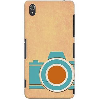 Kasemantra Retro Camera Case For Sony Xperia Z3