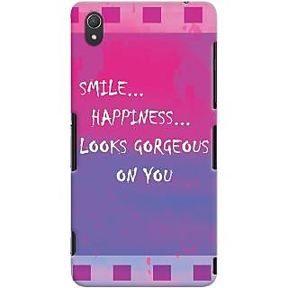 Kasemantra Smile Quote Case For Sony Xperia Z3