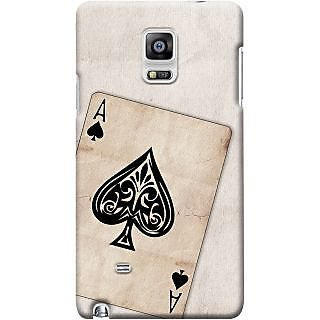 Kasemantra Ace Of Spades Case For Samsung Galaxy Note 4 Sm N910