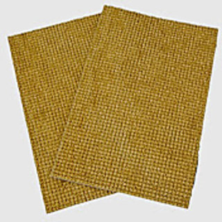 Beige Truf Door Mat Set Of 2 (R1126)