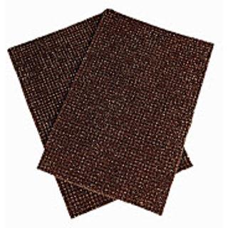 Brown Truf Door Mat Set Of 2 (R1127)