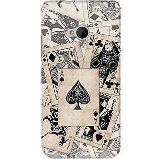 Kasemantra Card Family Case For Htc One M7