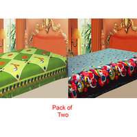 Swank  Pack  Of 2 Color's Polar Fleece Ac Blanket GKC1445