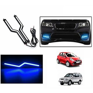 UNEESTORE Daytime Z DRL Lights Blue For MARUTI SUZUKI CELERIO (ABC3762)
