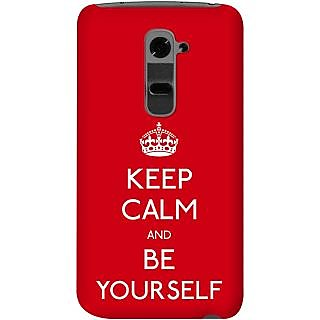 Kasemantra Keep Calm And Be Yourself Case For Lg G2