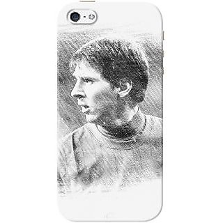 Kasemantra Messi Sketch Case For Apple Iphone 5-5S