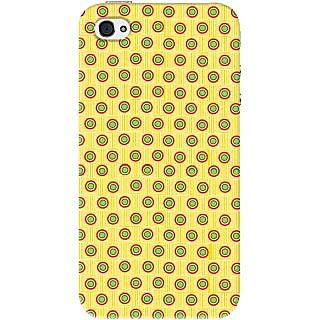 Kasemantra Mix Polka Dots Case For Apple Iphone 4-4S