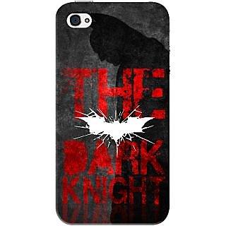 Kasemantra Batman The Dark Knight Case For Apple Iphone 4-4S