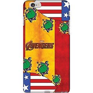 Kasemantra Captain Hulk Case For Apple Iphone 6 Plus