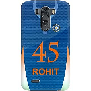Kasemantra Rohit Jersey Case For Lg G3