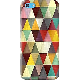 Kasemantra Triangle Colors Case For Apple Iphone 5C