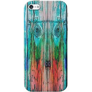 Kasemantra Wooden Plank Case For Apple Iphone 5-5S