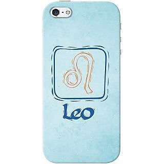 Kasemantra Attractive Leo Case For Apple Iphone 5-5S