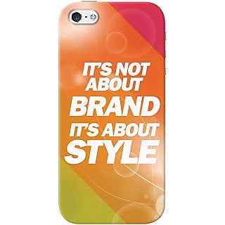 Kasemantra It'S Not About Brand Case For Apple Iphone 5-5S