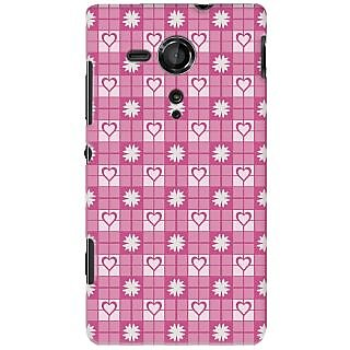 Kasemantra Love zone Case For Sony Xperia SP C5302