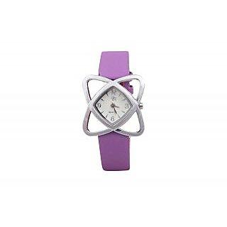Yaari Purple Casual Designer Watch For Women