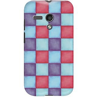 Kasemantra Pallette of colours Case For Motorola Moto G