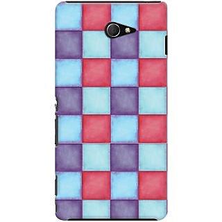 Kasemantra Pallette of colours Case For Sony Xperia M2 LTE D2303