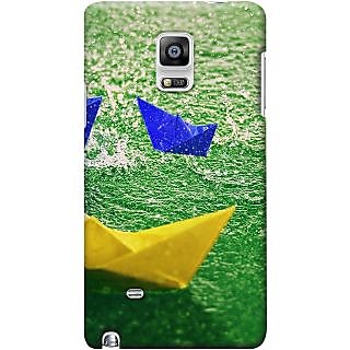 Kasemantra Paper Boats Case For Samsung Galaxy Note N7000